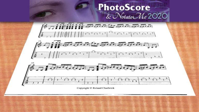 Video 1: PhotoScore & Notate Me Einführung